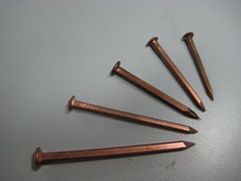 Copper Nails / Copper Boat Nails