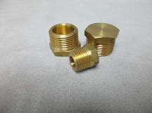 Brass Plugs ( Hex / Sq / CSK )