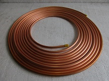 Copper Tubing in Pancake Coil (Soft Annealed Temper)